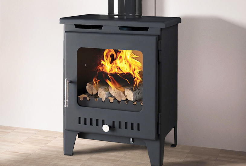 Rofer & Rodi Alora 5kw Multifuel Wood Burning Stove - Anthracite